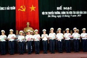 Vùng 3 Hải quân bế mạc hội thi thuyền trưởng, chính trị viên tàu giỏi
