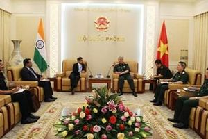 Đẩy mạnh hợp tác quốc phòng Việt Nam - Ấn Độ