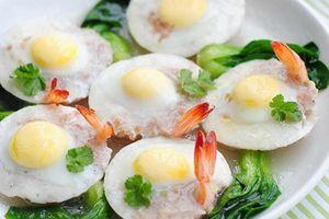 Đừng luộc, đây mới là cách chế biến trứng cút vừa đẹp, vừa ngon