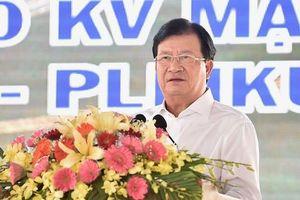 Phó Thủ tướng Trịnh Đình Dũng: Phấn đấu hoàn thành GPMB đường dây 500kV mạch 3 trước 30/11/2019