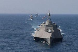 Tàu chiến Mỹ mang tên lửa 'nắn gân' Trung Quốc tại Thái Bình Dương