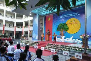 Học sinh THCS Dịch Vọng - Hà Nội tái hiện câu chuyện lịch sử trong chương trình Trung thu