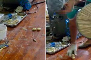 Quy trình làm bánh Trung thu bẩn ở Trung Quốc khiến ai cũng kinh hãi