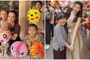 Sao Việt đi đâu, làm gì trong dịp Tết Trung thu: Angela Phương Trinh, Bùi Anh Tuấn làm từ thiện