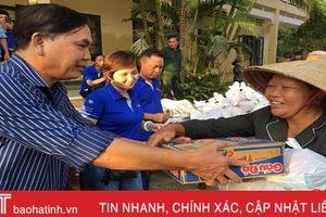 Hơn 100 triệu đồng hỗ trợ người dân vùng lũ Hà Tĩnh