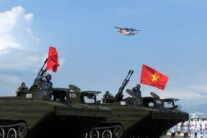 Cải tiến độc đáo được Việt Nam thực hiện trên xe lội nước bánh xích PTS-M