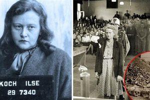 Hãi hùng 'nữ quỷ khát máu' của Hitler nghiện cắt hình xăm tù nhân