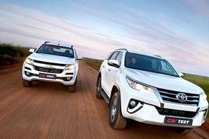 Chevrolet Trailblazer giảm giá trăm triệu vẫn bị Toyota Fortuner bỏ xa