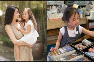 Con gái út của HH Hà Kiều Anh được dự đoán sẽ trở thành tiểu mỹ nhân trong tương lai