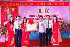 Trường Mầm non Đồng Xuân nơi ươm mầm tuổi thơ