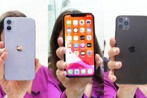 Bộ 3 iPhone 11 được bán bao nhiêu tại Việt Nam?