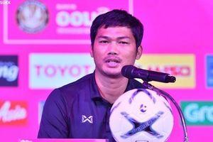 U19 Thái Lan quyết đánh bại U19 Việt Nam tại giải tứ hùng Bangkok Cup