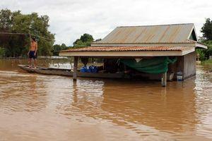 11 người chết vì lũ lụt tại Campuchia