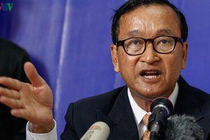 Bộ Hoàng cung Campuchia cáo buộc Sam Rainsy phỉ báng Quốc vương