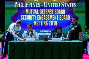 Mỹ - Philippines: 300 hoạt động hợp tác an ninh trong năm 2020