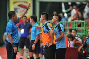 Vòng 16 Futsal HDBank VĐQG 2019: HLV bị mời lên khán đài, Tân Hiệp Hưng đau đớn mất 3 điểm