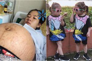 Hạnh phúc của bà mẹ khi biết tin mang song thai sau cuộc chiến 5 năm đi gần chục nơi khám chữa hiếm muộn