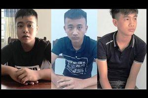 Nhóm cướp tuổi thiếu niên chặn xe công an đe dọa cướp tài sản