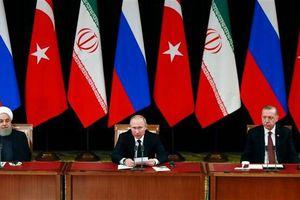Ankara tổ chức thượng đỉnh ba bên Nga-Iran-Thổ về cuộc khủng hoảng Syria