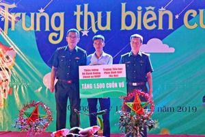 Nỗ lực lo Tết Trung thu cho trẻ em nghèo vùng biên