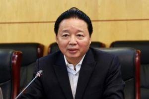 Bộ trưởng Tài nguyên và Môi trường hiến kế phát triển kinh tế tuần hoàn