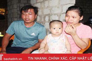 Để 'bước tiếp cuộc đời', bé 17 tháng tuổi ở Hà Tĩnh mong được ghép tủy