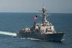 Mỹ điều tàu chiến vào vùng biển Hoàng Sa khiến Bắc Kinh tức tối