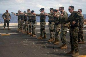 Thủy quân lục chiến Mỹ tập trận 'nhắc nhở' Trung Quốc