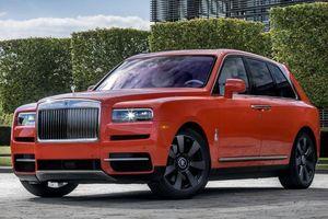 SUV của giới siêu giàu Rolls-Royce Cullinan phải triệu hồi do lỗi đèn hậu
