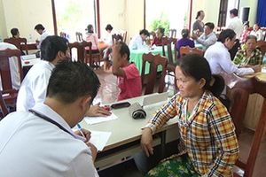 Tổ chức các hoạt động từ thiện tại xã Xuân Sơn, huyện Vạn Ninh