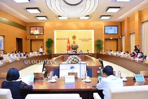 Trình Ủy ban Thường vụ Quốc hội dự án Luật sửa đổi, bổ sung một số điều của Luật Tổ chức Quốc hội