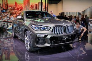 Cận cảnh BMW X6 M50i 2020 giá khoảng 2 tỷ đồng