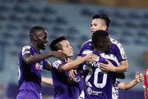 Quang Hải lập cú đúp, Hà Nội FC ngược dòng ngoạn mục trên sân không khán giả