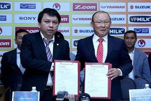 VFF sửa sai việc giao chỉ tiêu vô lý cho HLV Park Hang-seo