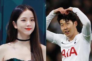 Son Heung-min hẹn hò với mỹ nhân nhóm Black Pink?