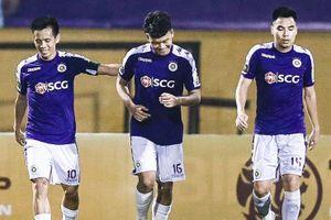 CLB Hà Nội phối hợp ghi bàn như đá tập trước Viettel