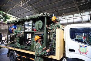 Vụ cháy Công ty Rạng Đông: Thu hơn 12 tấn phế thải nhiễm thủy ngân