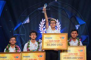 Trần Thế Trung giành vòng nguyệt quế chung kết Đường lên đỉnh Olympia 2019