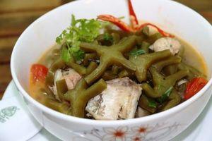 Kỳ lạ món canh xương rồng có '1-0-2' ở Quảng Nam
