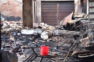 Cháy chợ Bình Long: Nghi do đốt vàng mã