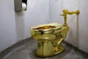 Toilet bằng vàng khối trị giá 5 triệu USD ở Anh bị đánh cắp