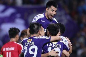 Hạ Viettel trong ngày không khán giả, Hà Nội FC áp sát ngôi vô địch