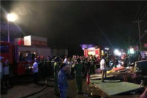 Hà Nội: Hai vợ chồng tử vong trong vụ cháy cửa hàng tạp hóa