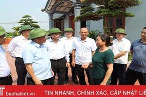 Hà Tĩnh có thêm nhiều kinh nghiệm quý từ xây dựng nông thôn mới của Quảng Ninh