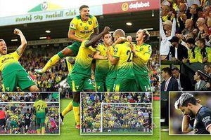 Kết quả, bảng xếp hạng vòng 5 Ngoại hạng Anh: Man Utd thắng tối thiểu, Man City thua Norwich
