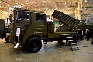 Ukraine ra mắt bản nâng cấp mạnh nhất của pháo phản lực BM-21 huyền thoại