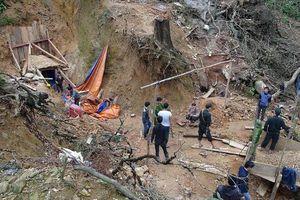 Quảng Nam: Phát hiện 20 lán trại và hơn 100 người khai thác vàng trái phép ở Bồng Miêu