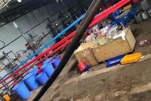 Khởi tố đường dây sản xuất ma túy ở Kon Tum và Bình Định: Bắt tạm giam 7 người Trung Quốc, 1 người Việt gốc Hoa