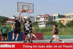 12 đội bóng tranh tài tại giải bóng rổ các câu lạc bộ TP Thanh Hóa 2019