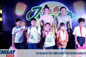 Hoa hậu Phan Thị Mơ và Nhà hàng Mekong Taste tổ chức chương trình 'Vui hội Trăng Rằm' cho trẻ em khó khăn